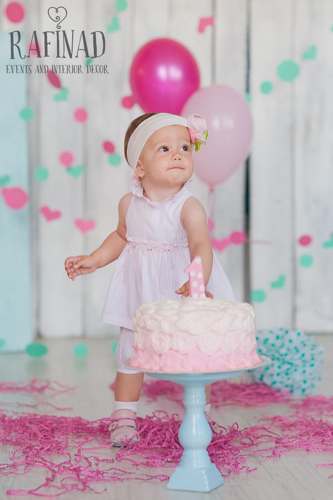 Cake Smash - Agatha 1