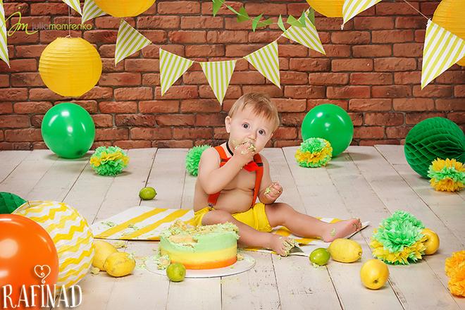 Cake Smash - Andrey 8