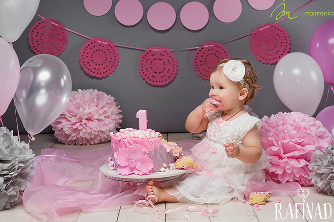 Cake Smash - Elizabeth 3
