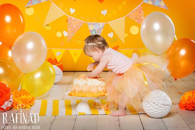Cake Smash - Nastya 3