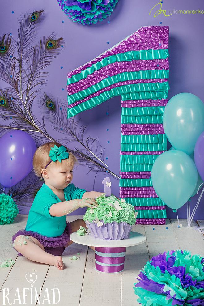 Cake Smash - Solomia 5