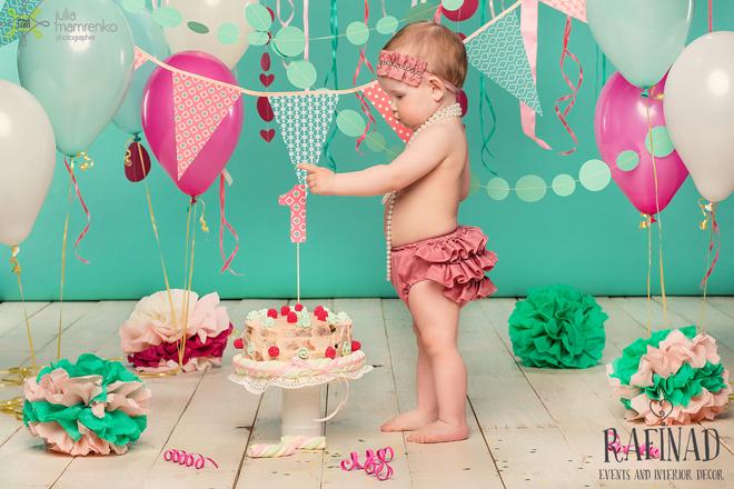 Cake Smash - Darinka 1