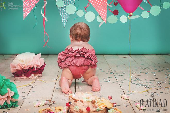 Cake Smash - Darinka 10