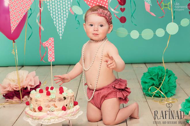 Cake Smash - Darinka 4