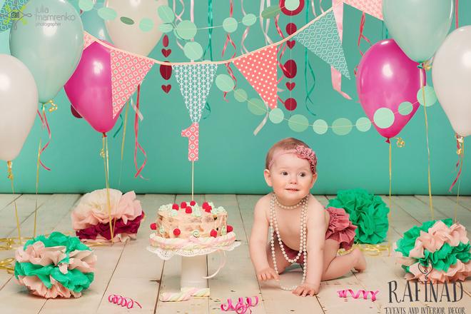 Cake Smash - Darinka 6