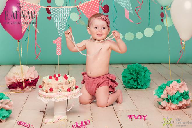 Cake Smash - Darinka 8