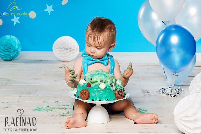 Cake Smash - Kemal 3