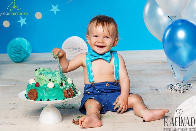 Cake Smash - Kemal 8