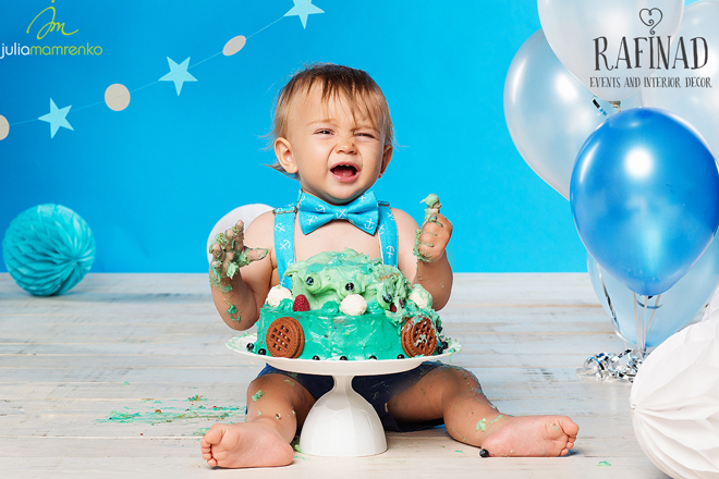 Cake Smash - Kemal 9
