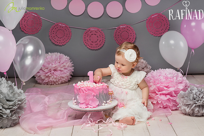 Cake Smash - Elizabeth 2