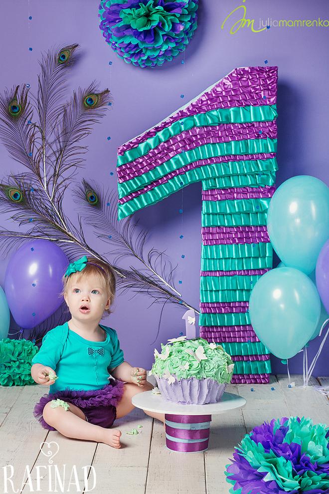 Cake Smash - Solomia 4
