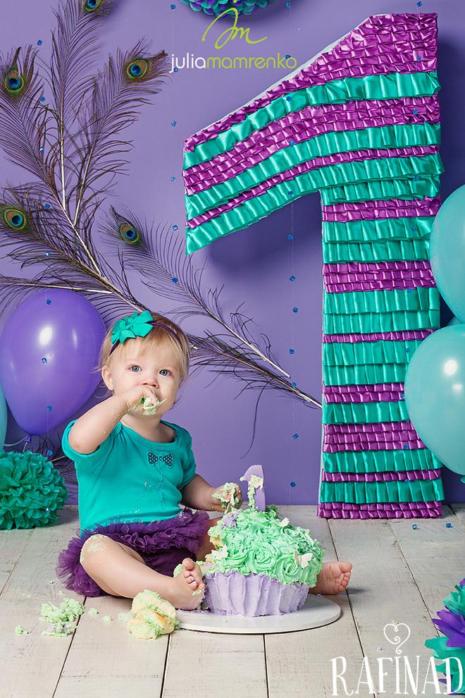 Cake Smash - Solomia 7
