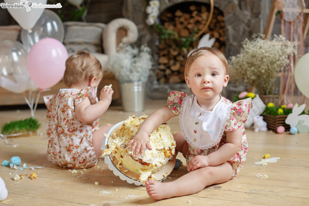 woohoo_cakesmash_Easter_Twins_9